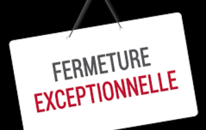 Fermeture des stuctures cause COVID19